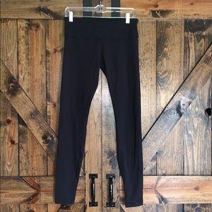 Lululemon all black full length leggings size 8!